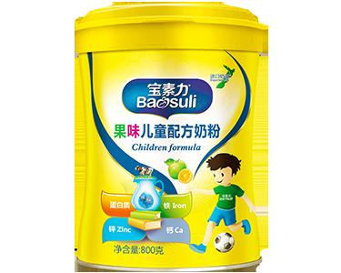 果味儿童配方奶粉(官方价格:238元)