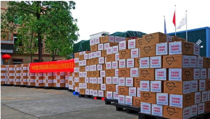 花都爱心企业捐5000余罐营养奶粉, 驰援湖北抗疫!